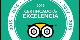 Entramos en el Salón de la fama, 5 años consecutivos con certificado de excelencia 2014-2018